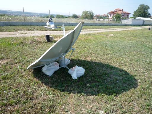 снимка на Как се справя соларният котлон с вятъра?