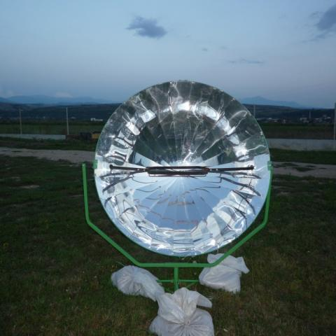 снимка на Fantasies with solar cooker